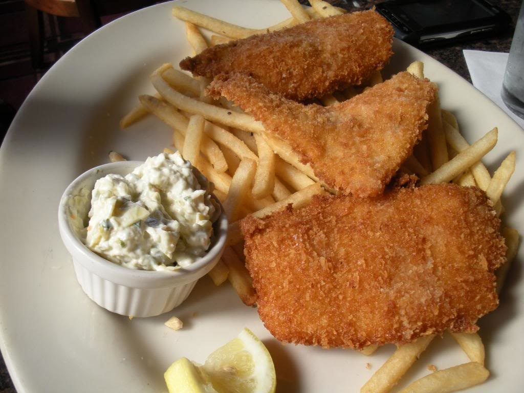 Fish and Chips with Homemade Tartar Sauce • The Heritage Cook ®