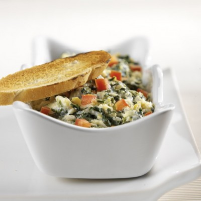 Italian Hot Artichoke Dip for Festive Friday!