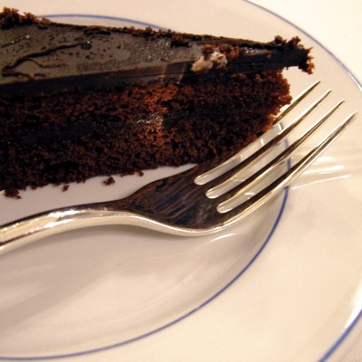Rich Flourless Chocolate Torte for Chocolate Monday!