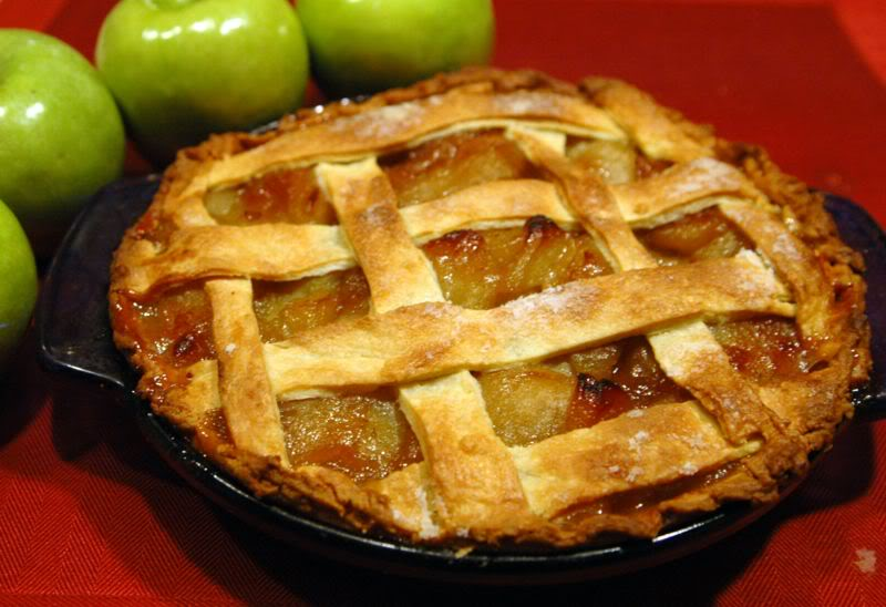 Old-Fashioned Apple Pie « The Heritage Cook ®