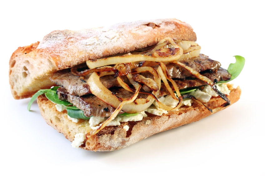 Steak Sandwich • The Heritage Cook ®
