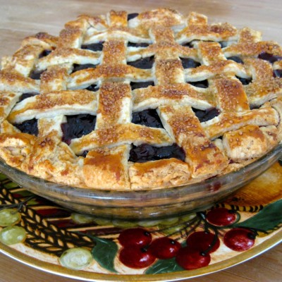 Sour Cherry Cranberry Pie – A Taste of Summer in the Middle of Winter!