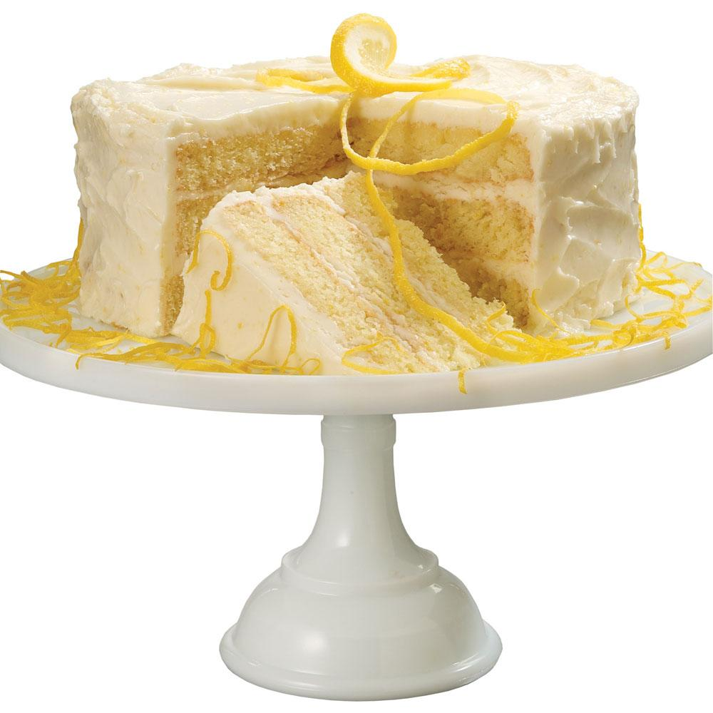Triple Layer Lemon Cake with Lemon Buttercream Icing & Baking Tips ...