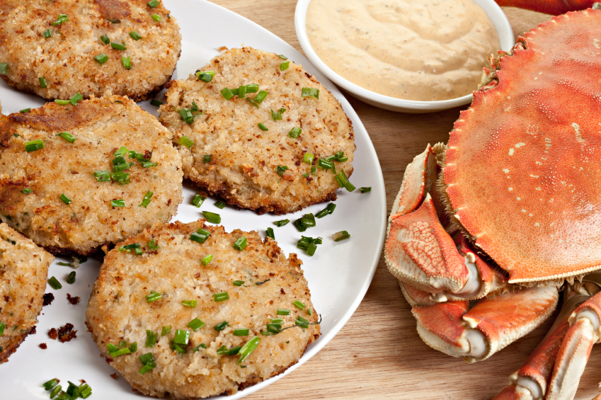 Dungeness Crab Cakes With Cabbage Slaw Recipes — Dishmaps