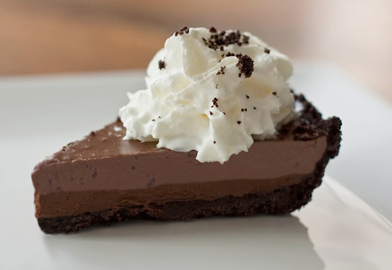 Double-Chocolate Mousse Mud Pie for Chocolate Monday! - The Heritage ...