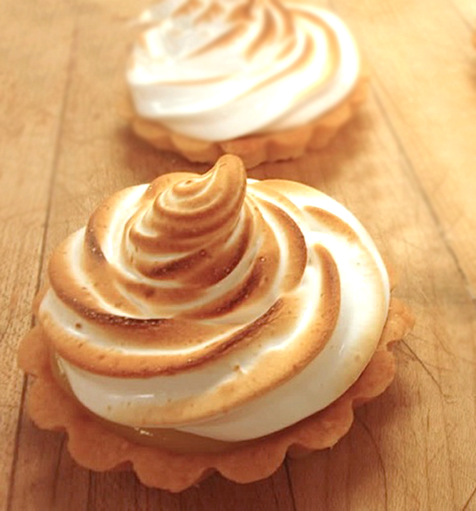 Lemon Meringue Tartlets for Festive Friday! • The Heritage Cook ®