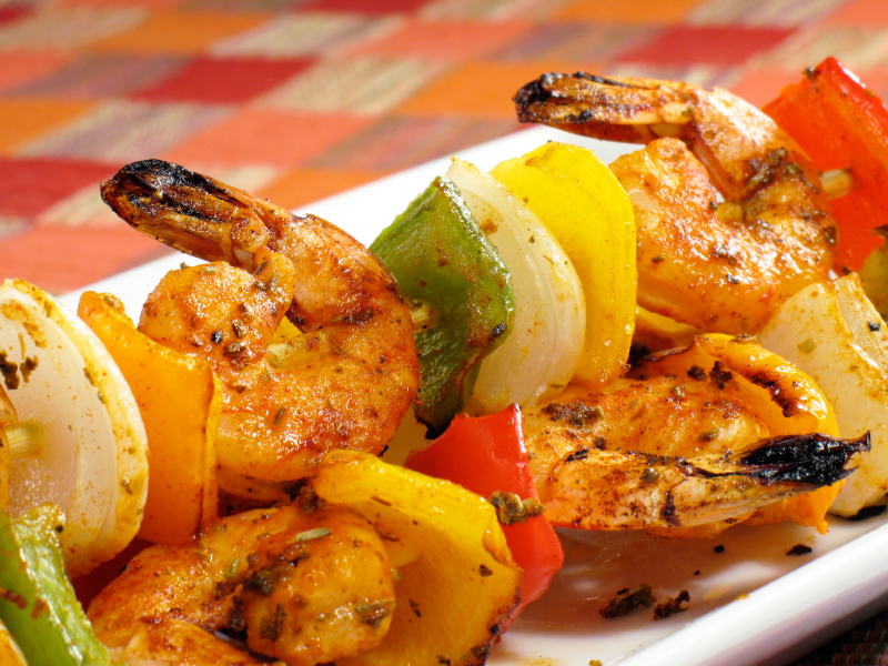 Shrimp Kabobs Recipes Grill