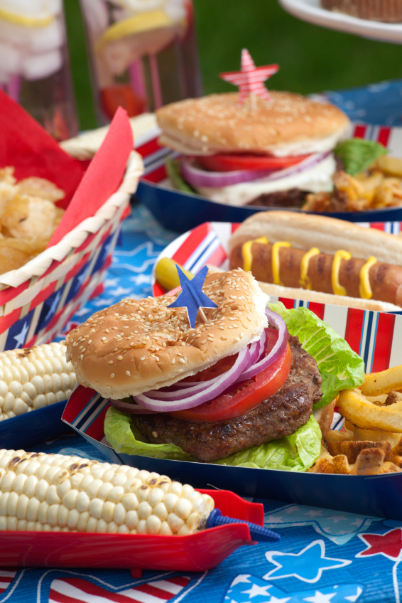 Perfectly Grilled Hamburgers And Homemade French Fries For The Fourth Of July The Heritage Cook