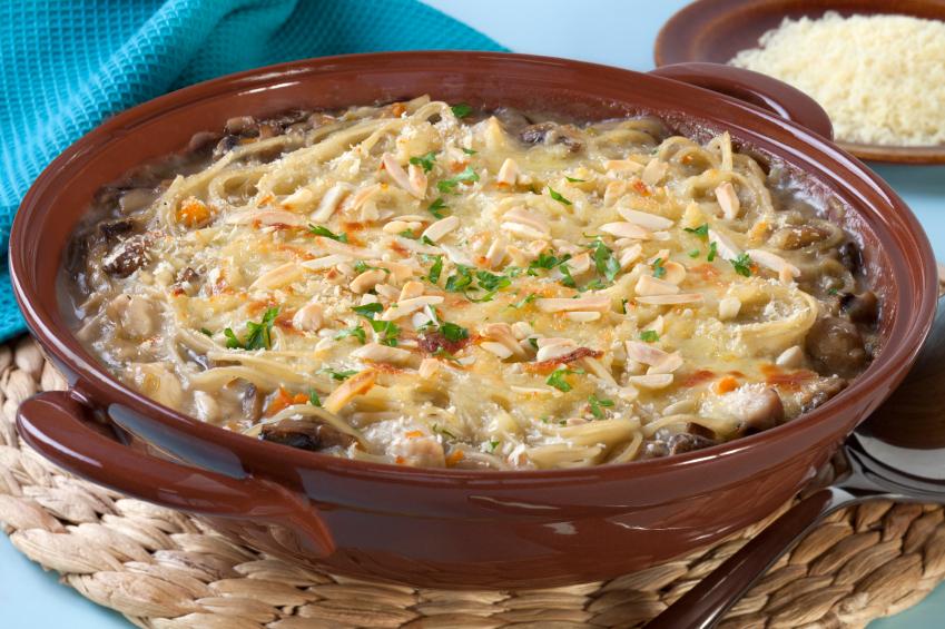 The Perfect Family Dinner - Chicken Tetrazzini Casserole • The ...