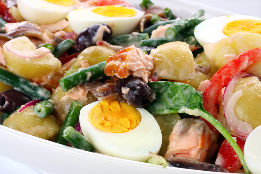 how to cook rapini salad