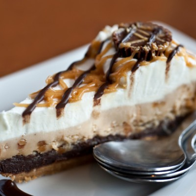 Black Bottom Peanut Butter Pie for Chocolate Monday!