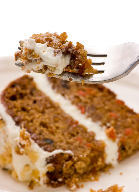 Organic Vegan Carrot Cake Recipe