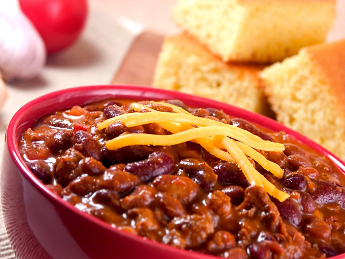 Beef Chili With Beans And Chocolate Plus 2 Styles Of