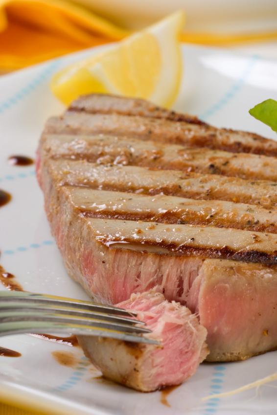 Ginger Soy Marinated Ahi Tuna With Wasabi Aioli For Festive Friday
