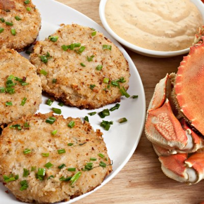 Ready for your Mardi Gras Celebration? How about some Creole Crab Cakes with Remoulade Sauce and Jicama Slaw!