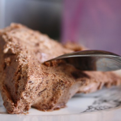 Guest Post – Double Chocolate Brownie Semifreddo for Chocolate Monday!