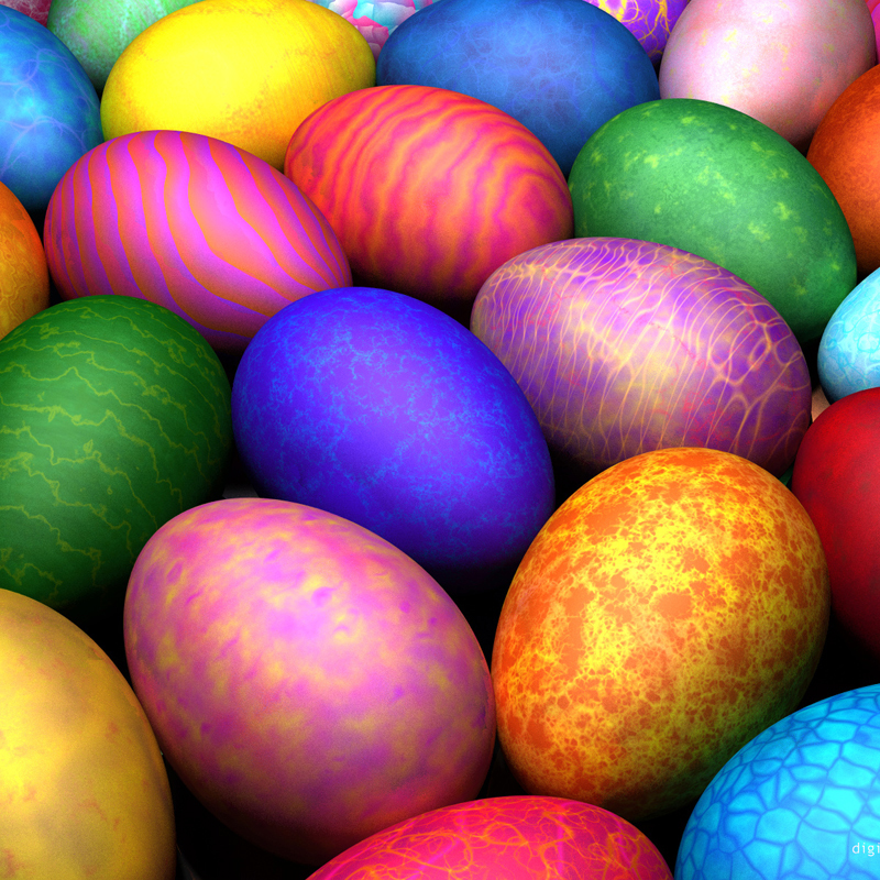Easter Eggs - How to Cook Them, Naturally Dye and Devil Them! - The ...