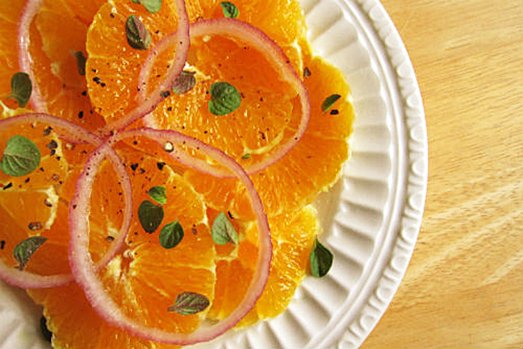 Sicilian Orange and Onion Salad for Festive Friday! • The Heritage ...