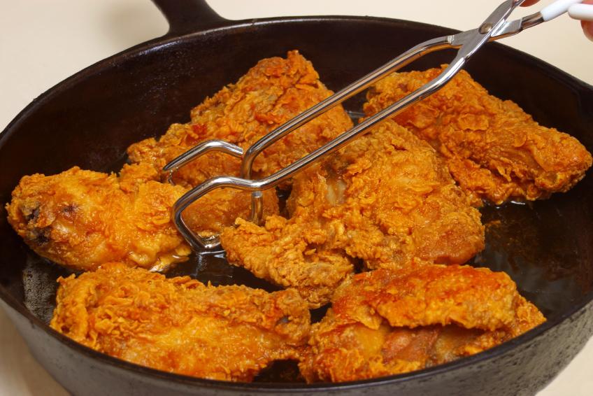 crispy dry rub fried chicken recipe