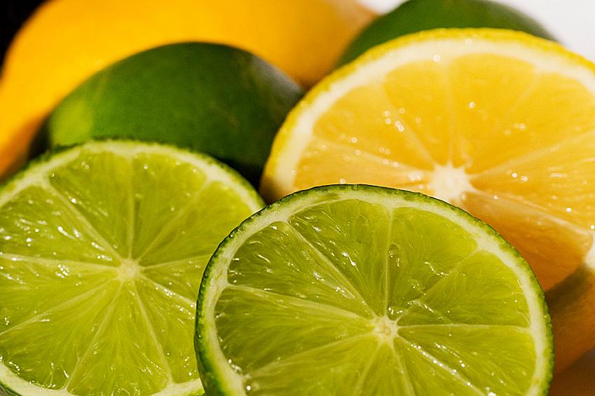Agentes blanqueadores limon