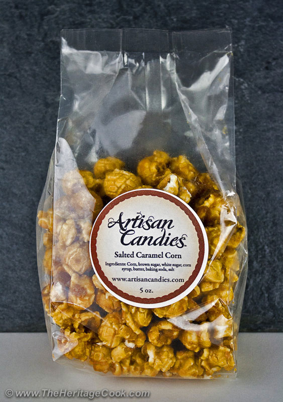 Artisan-Candies-Caramel-Corn copyright 2012 Jane Evans Bonacci, The Heritage Cook