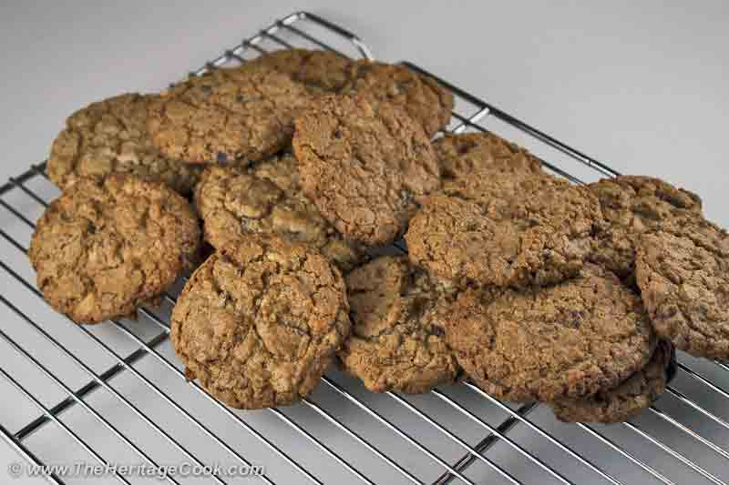 Coconut-Double-Choc-Chunk-Cookies-copyright 2012 Jane Evans Bonacci, The Heritage Cook