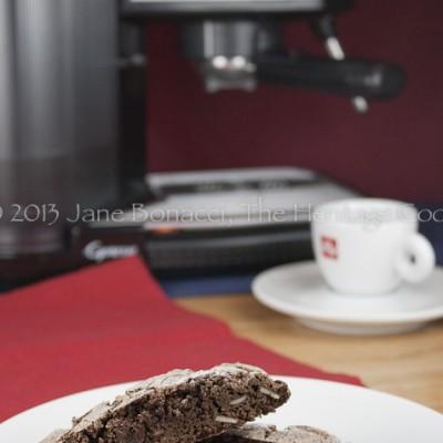 Chocolate Brownie Biscotti (SRC) for Chocolate Monday