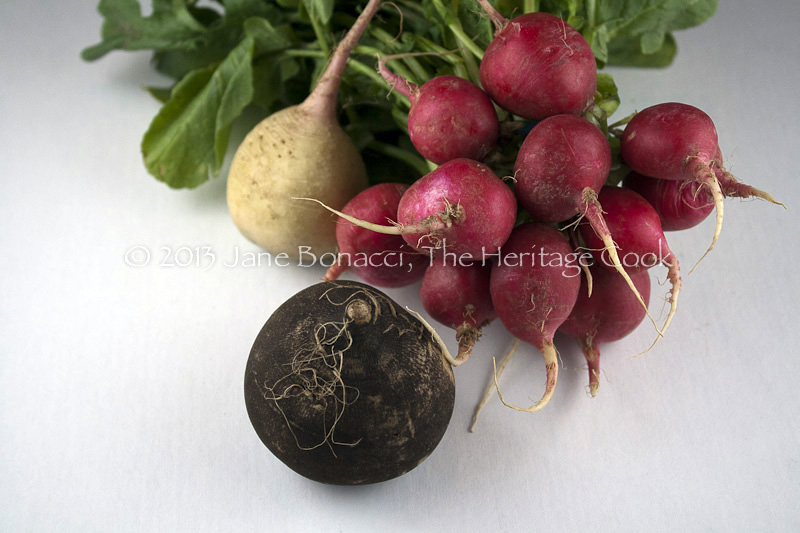 Classic Red, Black and Watermelon Radishes