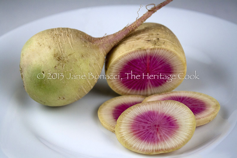 Gorgeous Watermelon Radish