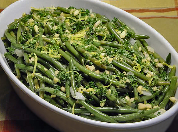 Lemon-Roasted Green Beans