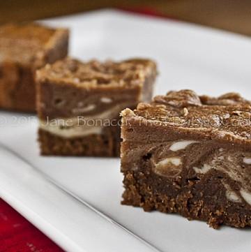 Marbled Cheesecake Brownies-02-2013 copyright Jane Bonacci, The Heritage Cook