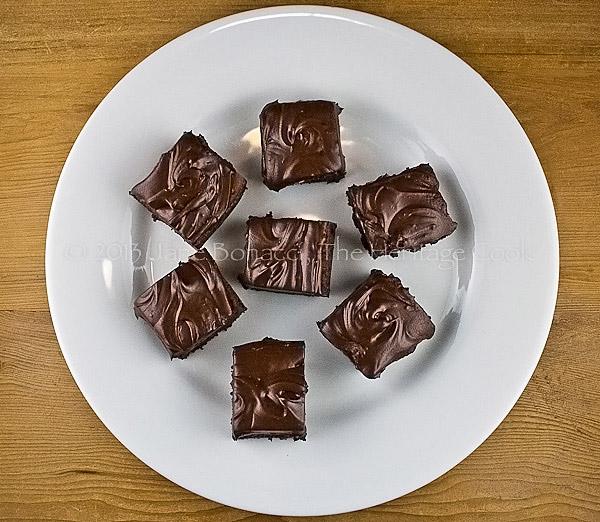 Merlot-Brownies-copyright 2013 Jane Bonacci, The Heritage Cook