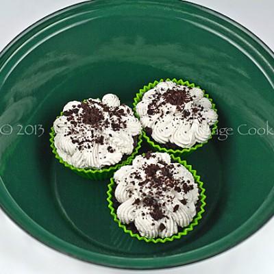 Irish Whiskey Chocolate Cupcakes (GF option) for Chocolate Monday