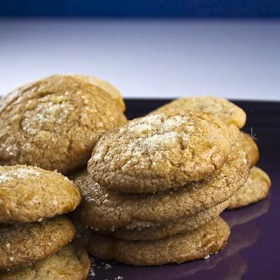 Nutella-Filled Vanilla Cookies (GF option) SRC
