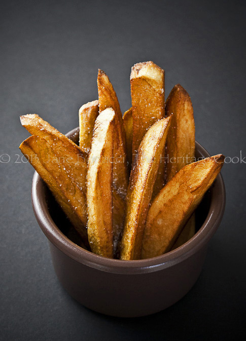 Duck Fat Fries Copyright Jane Bonacci, The Heritage Cook; all rights reserved.