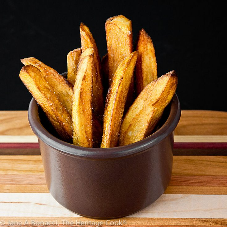 Duck Fat Fries (Pommes Frites) © 2020 Jane Bonacci, The Heritage Cook