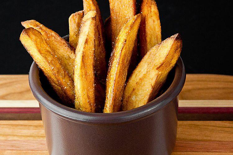 Duck Fat Fries (Pommes Frites) © 2020 Jane Bonacci, The Heritage Cook