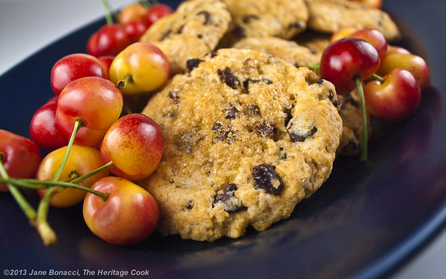 Cherry-Chocolate Chip Scones