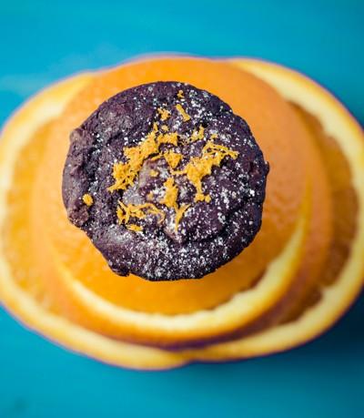 Chocolate Orange Mini Muffins ©Rhonda Adkins 2013-4