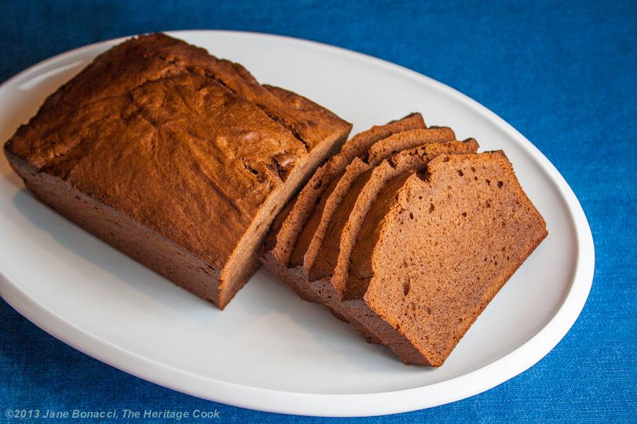 Chocolate Pound Cake with Kahlua Glaze