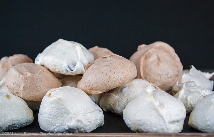 Chocolate Chip Meringue Cookies - The Heritage Cook