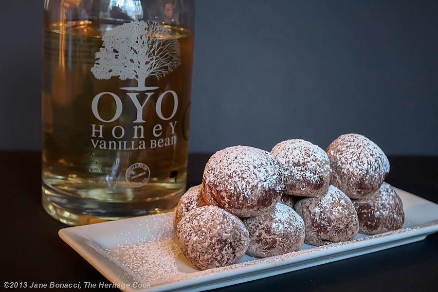 Honey Vanilla Vodka Chocolate Bites, 2013 The Heritage Cook
