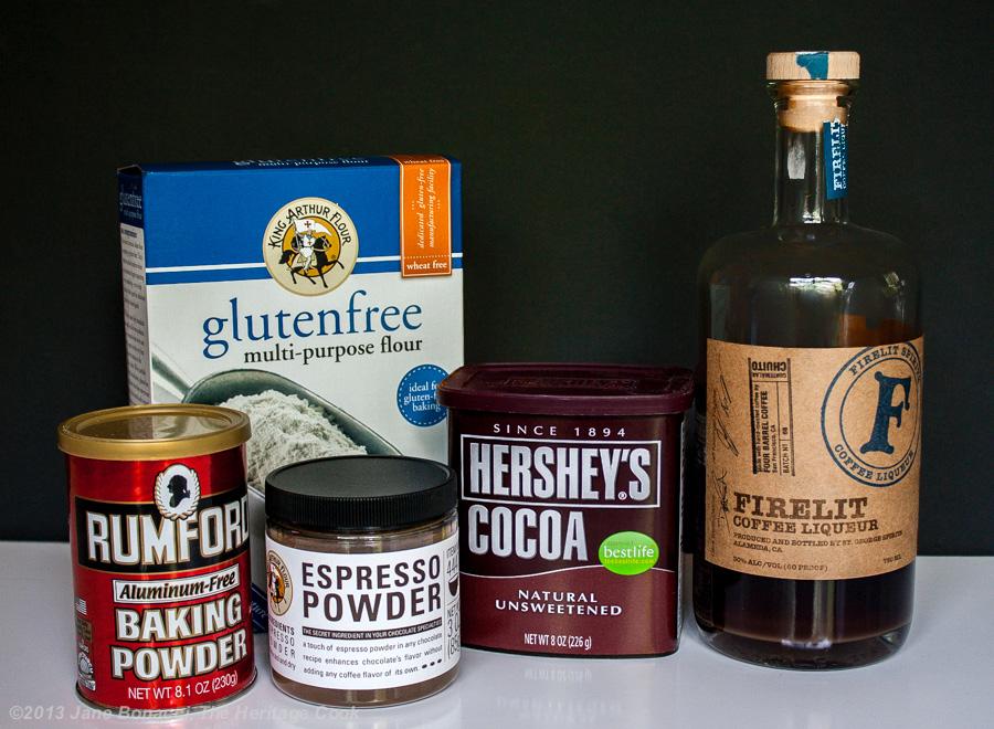 Mocha Brownie Cheesecake Bars; The Heritage Cook 2013