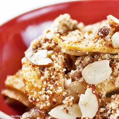 Gluten-Free Apple Crisp for #FallFest