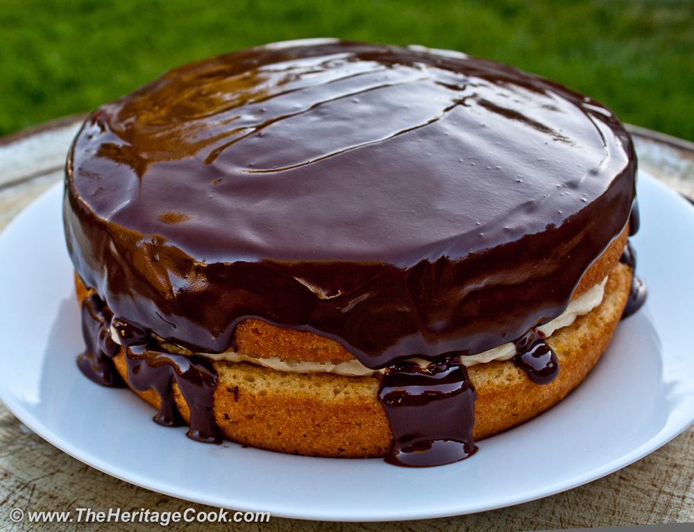 Boston Cream Pie (GF), 2013 The Heritage Cook