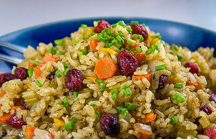 I Heart Circulon-Sage & Cranberry Rice Pilaf; 2013 The Heritage Cook