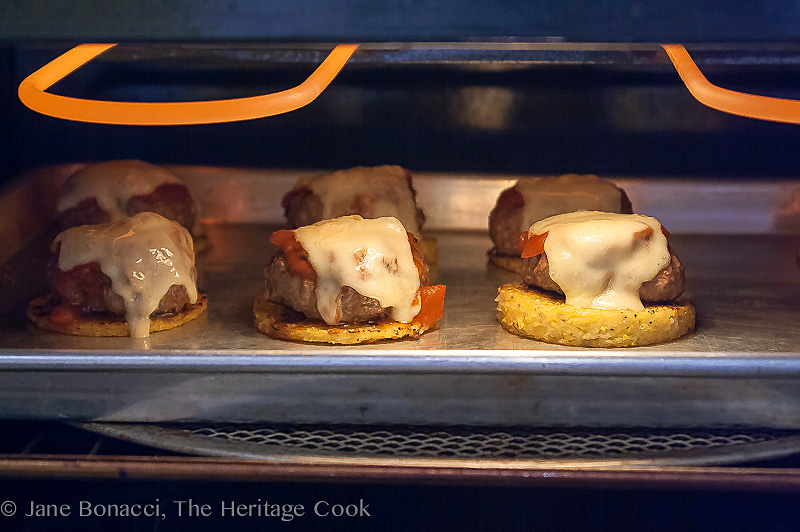 Gluten-Free Italian Sliders for #ComfortFoodFest; © 2014 Jane Bonacci, The Heritage Cook