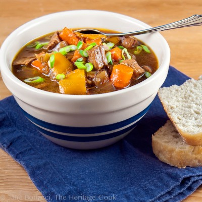 A Valentine's Day Love Story and Old-Fashioned Beef Stew