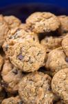 PB-Oatmeal-Choc Chip Cookies; 2014 Jane Bonacci, The Heritage Cook