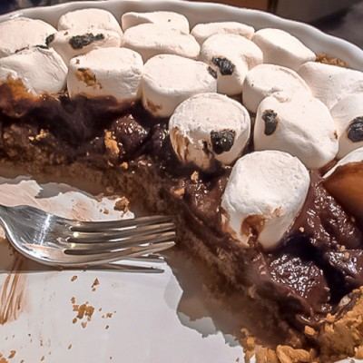 The Taste of Summer All Year Long – S'mores Pie!